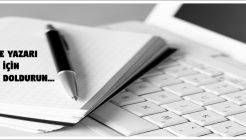 Makale Yazarı Olmak İster Misiniz?