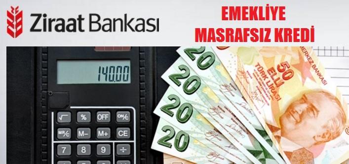 Ziraat Bankası Emeklilere Özel Kredi İmkanları 2017