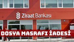 Ziraat Bankası Kredi Dosya Masrafı İadesi Nedir Nasıl Alınır?