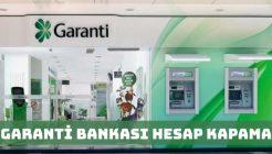Garanti Bankası Hesap Kapatmak İçin Dilekçe Örneği