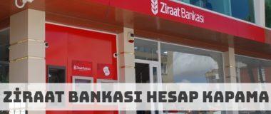 Ziraat Bankası Hesap Kapatma Nasıl Yapılır?
