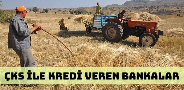 ÇKS (Çiftçi Kayıt Sistemi) İle Kredi Veren Bankalar