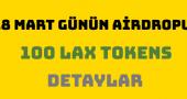 Lapo Airdrop – Ücretsiz 100 LAX Tokens