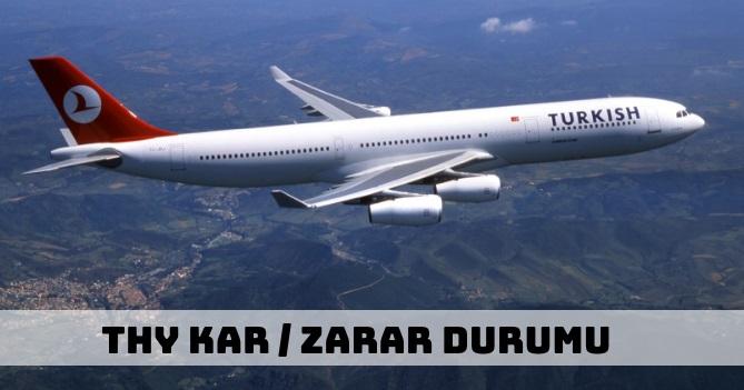 Türk Hava Yolları (THY) Ne Kadar Kar / Zarar Etti?