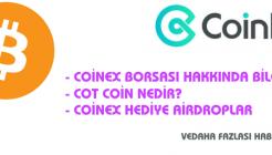 Coinex Kripto Para Bitcoin Borsası