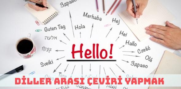 Diller Arası Çeviri Yaparak Para Kazanmak