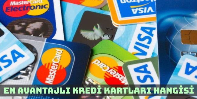 En Avantajlı Kredi Kartları Hangileri?