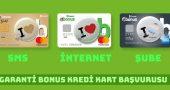 Garanti Bonus Kredi Kartı Başvurusu Nasıl Yapılır? (SMS, Şube ve İnternetten)