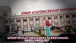 Sinop Devlet Hastanesi İş Başvurusu Nasıl Yapılır?