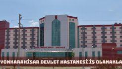 Afyonkarahisar Devlet Hastanesi İş Başvurusu 2018
