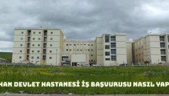 Ardahan Devlet Hastanesi İş Başvurusu Nasıl Yapılır?