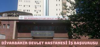 Diyarbakır Selahaddin Eyyubi Devlet Hastanesi İş Başvurusu Nasıl Yapılır?