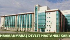 Kahramanmaraş Devlet Hastanesi İş Başvurusu Nasıl Yapılır?