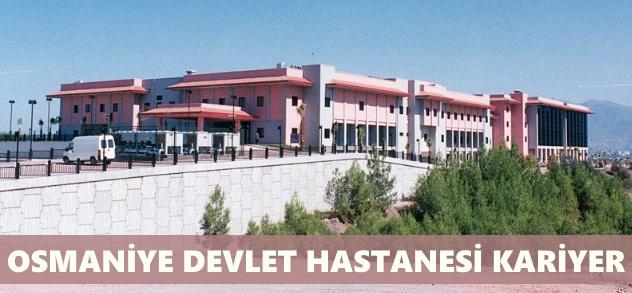 Osmaniye Devlet Hastanesi İş Başvurusu Nasıl Yapılır?