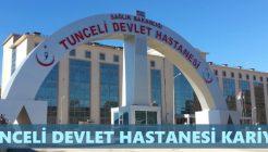 Tunceli Devlet Hastanesi İş Başvurusu Nasıl Yapılır?