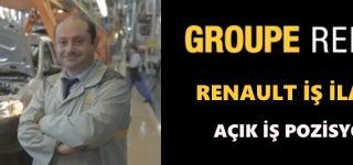 Oyak Renault İş Başvurusu
